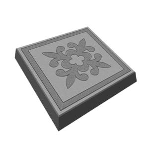Тротуарная плитка лилия