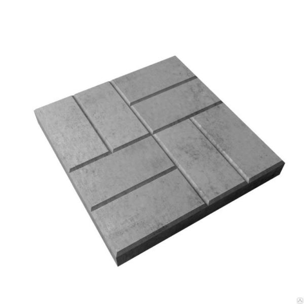 Тратуарная плитка 8 кирпичей